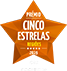 Logotipo do Prémios Cinco Estrelas